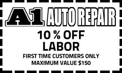 A1 Auto Repair Coupon